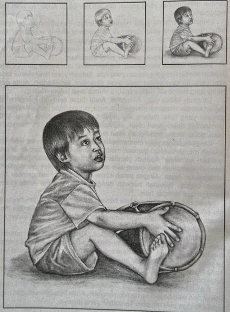 Teknik Dasar Menggambar Manusia - Seni Rupa