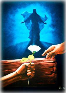 pintura de cristo