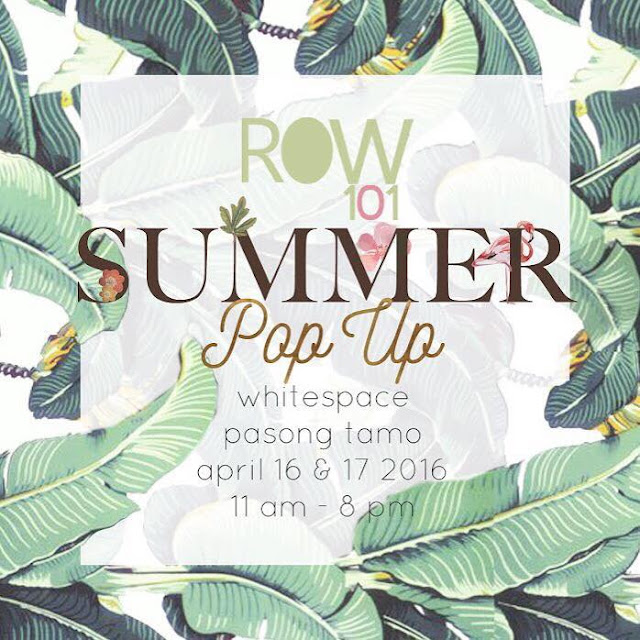 More details at ROW 101 Popup on Facebook