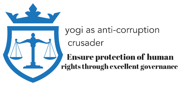 Yogi as anti-corruption crusader