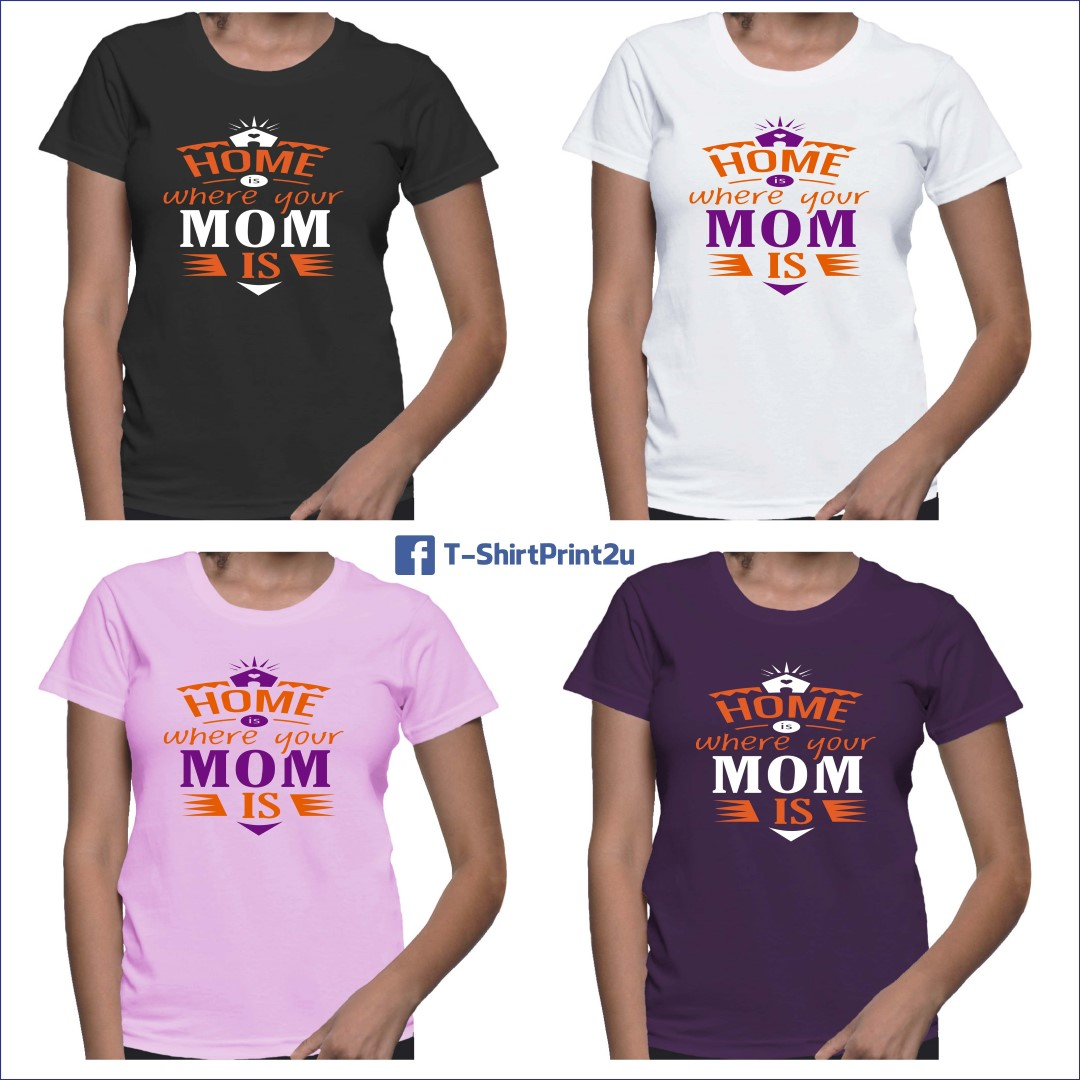 bb17c64c T-Shirt Printing in KL Malaysia | Heat Transfer Printing | Button Badges |  Mug: Personalized mother's day t-shirts