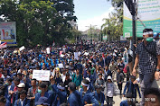 Ribuan Mahasiswa Se NTB Kepung DPRD Provinsi