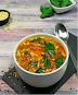 Orzo & Spinach Soup - Keto Vegan Recipe