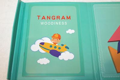 tangram pour enfant au format livre