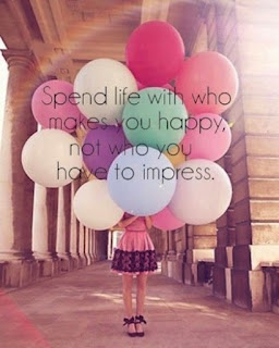 spend life with who makes you happy - happiness quotes
