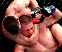 UFC 153 Demian Maia Choke Photo