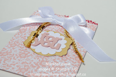 for you, treat bag, gift card holder, deco label framelits