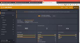 Beberapa Tools Online Gratis Untuk Melihat Link Rusak Di Blog