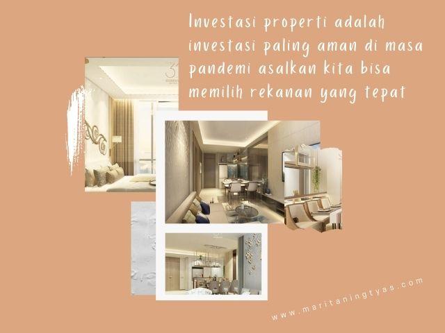 investasi properti di 31sudirman suites