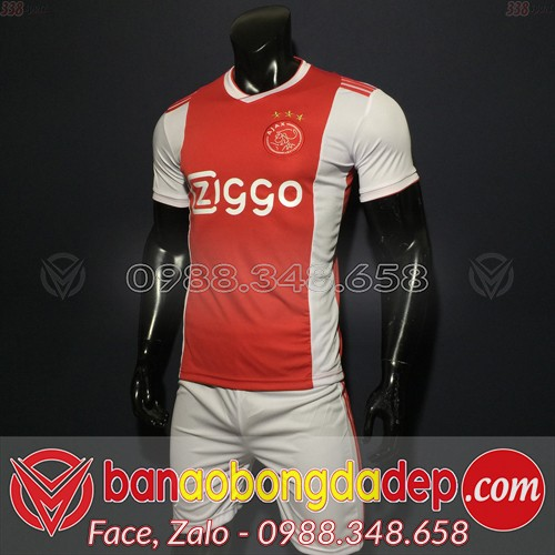 Áo Ajax Đỏ 2019 2020 Sân Nhà