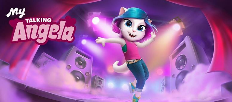 Talking Angela Mod Apk Unlimited Money and Diamonds Download