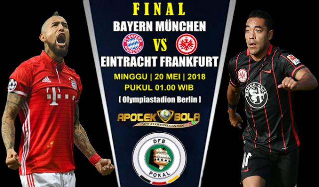 Prediksi Bayern Munich vs Eintracht Frankfurt 20 Mei 2018