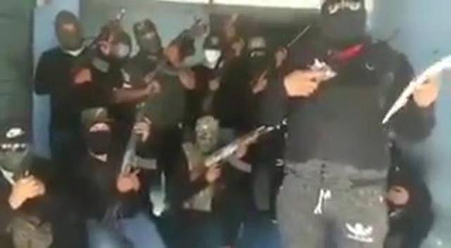 VIDEO; El CJNG lanza amenaza a huachicoleros y policías del triangulo rojo, van por ellos