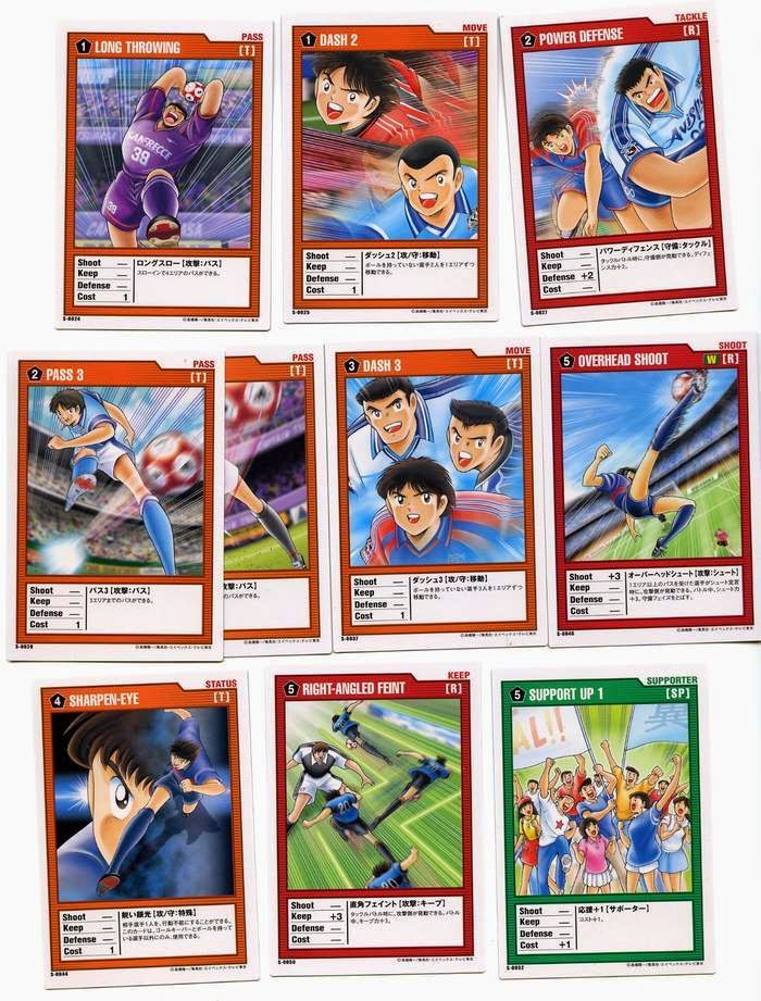 la saga captain tsubasa olive et tom animé manga film jeu video ost trading card carte à jouer yoichi takahashi