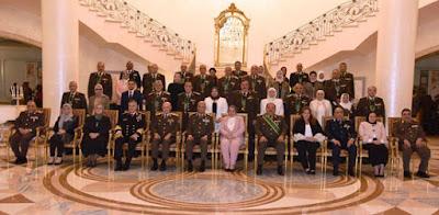 تكريم قادة القوات المسلحة المحالين للتقاعد .. صور