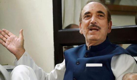 जम्मू-कश्मीर में है प्रशासन का आतंक: गुलाम नबी आजाद - newsonfloor.com