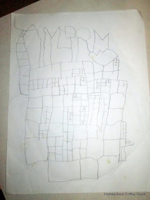 Past Doodles on the Virtual Refrigerator - an art link-up hosted by Homeschool Coffee Break @ kympossibleblog.blogspot.com