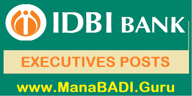 TS Jobs, TS State, Bank jobs, IDBI Bank, Executive post, latest jobs
