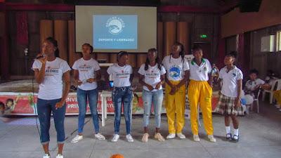 El club Águilas del Chocó socializa experiencia en Estados Unidos y Lituania con estudiantes y deportistas de Andagoya