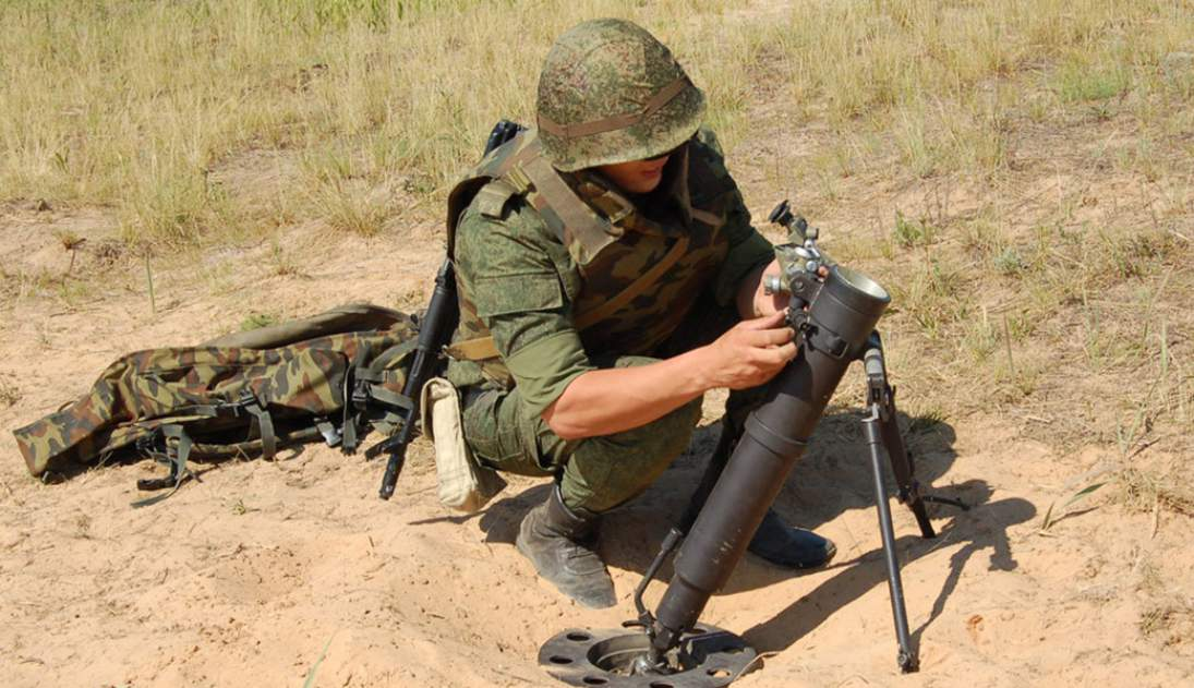Media Amerika Serikat menilai kemungkinan Mortir 2B25 Gull Rusia
