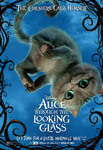 Nuevo póster de 'Alicia a través del espejo' centrado en el Gato de Cheshire