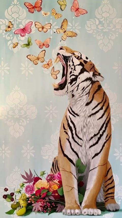 Hổ và bướm đẹp