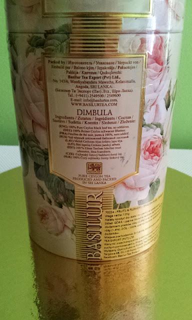 ENGLISH ROSE & DIMBULA Herbata