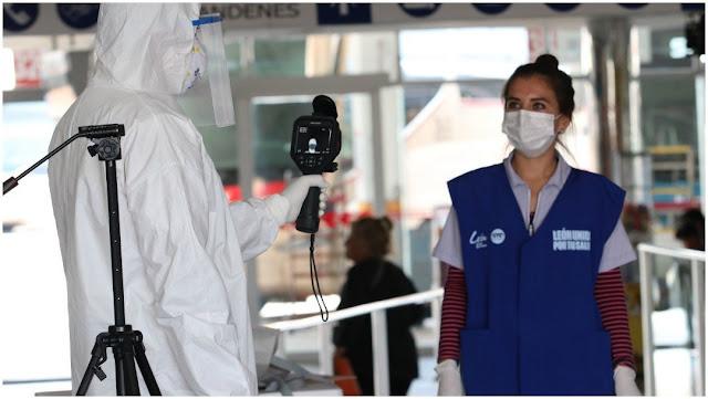 Suman 94 muertos en México por coronavirus
