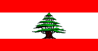 Gambar Bendera negara Libanon