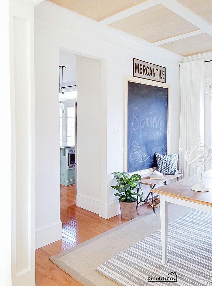 the easiest door trim remodelando la casa