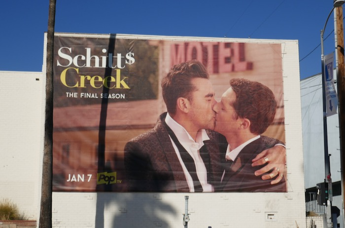 Schitts Creek final season 6 billboard