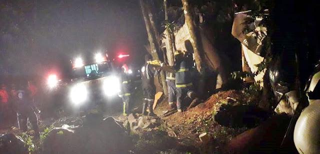 Motorista morre em acidente próximo ao Rio Muquilão