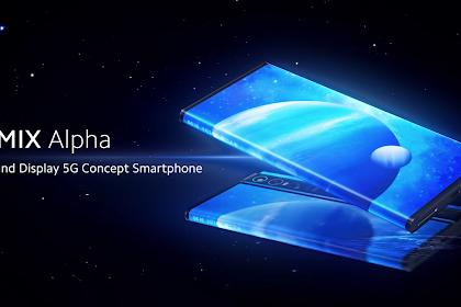 Xiaomi Mi Mix Alpha Ponsel 5G Dengan Kamera 108 Megapixel
