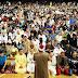 3.500 musulmanes celebran el fin del Ramadán en el Bilbao Arena