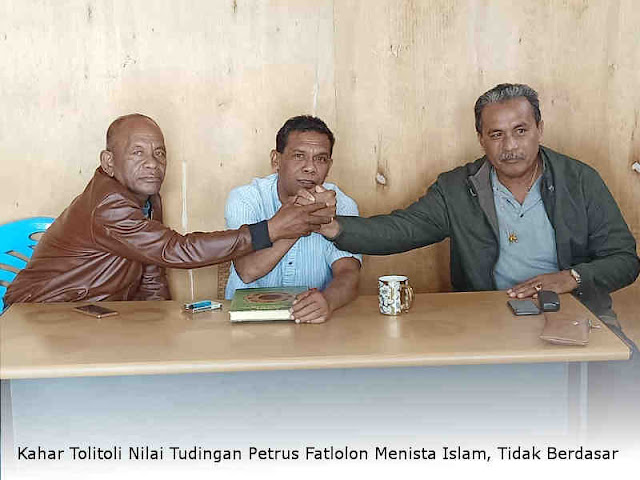 Kahar Tolitoli Nilai Tudingan Petrus Fatlolon Menista Islam, Tidak Berdasar