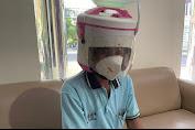 Gegara Pakai Helm Magic Com, Pria Ini Berurusan Dengan Polisi