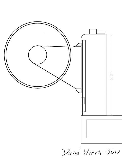 pvc autocad dimensions, monoprice select mini 3d printer