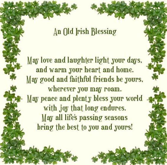 Spockgirl Musings: An Old Irish Blessing...