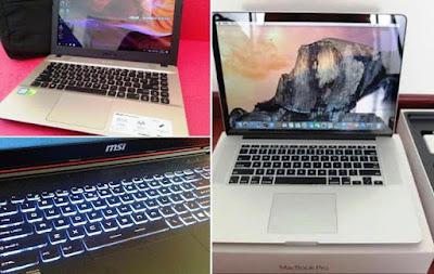 jual beli laptop bekas Surabaya kota Sby