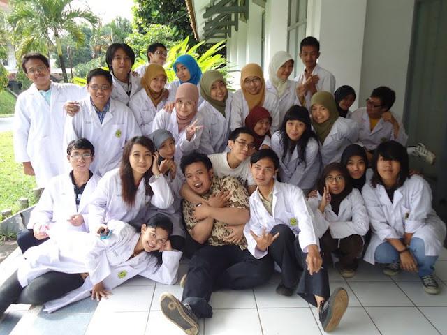 Mahasiswa Jurusan Kimia