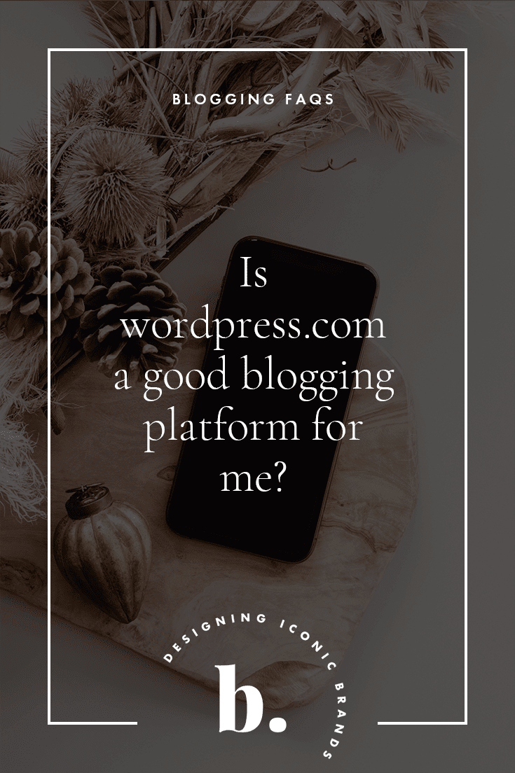 is wordpress.com a good way to start a blog