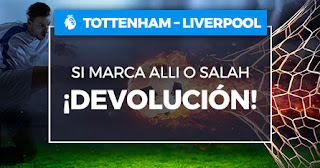 Paston promocion Tottenham vs Liverpool 11 enero 2020
