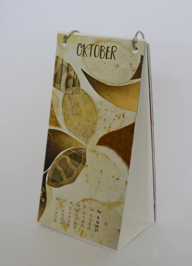 Kalender zweihändig nach ©muellerinart