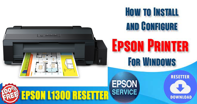 Epson L1300 Adjustment Program