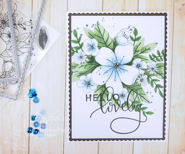 Heather's Hobbie Haven - Hello Lovely Tutorial