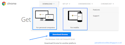Download Google Chrome Terbaru Untuk PC Online Installer