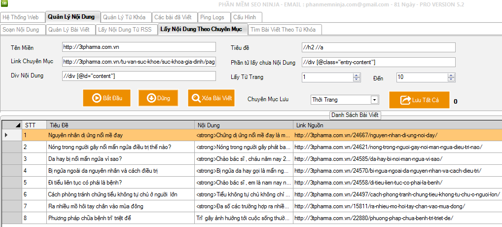ninja%2Bseo Phần mềm seo, phần mềm đăng bài lên bloger đăng bài lên wordpress