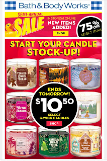 Bath & Body Works | Today's Email - January 11, 2020