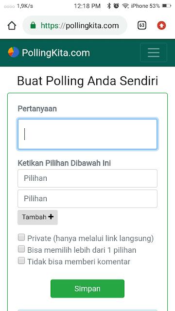Cara Membuat Polling di Whatsapp-1