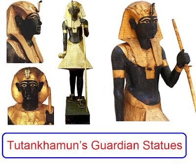 Tutankhamun's Guardian Statues